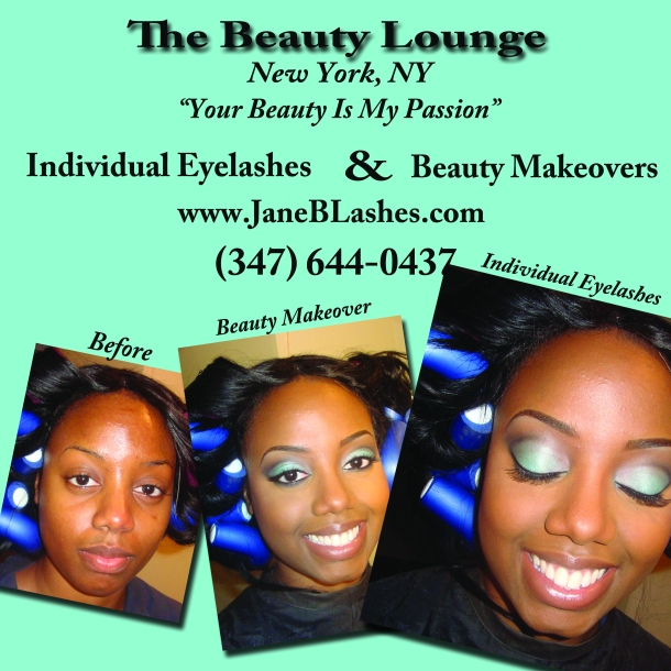 Makeover and Lashes